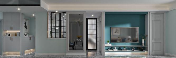 90平米三室一厅混搭风格餐厅欣赏图
