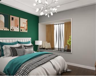 80平米美式风格卧室图片大全