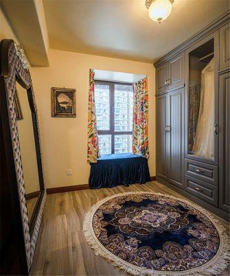90平米三室两厅地中海风格衣帽间图片