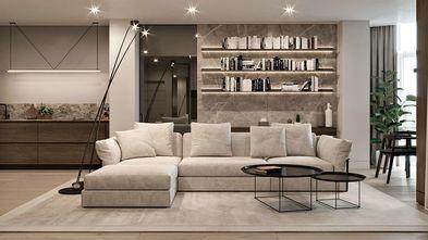 20万以上100平米三室两厅现代简约风格客厅装修案例