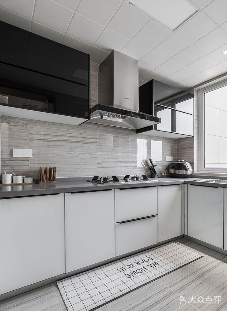 70平米北欧风格厨房图