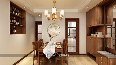 60平米三室两厅欧式风格餐厅图