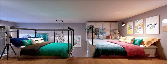 130平米复式混搭风格卧室图片大全