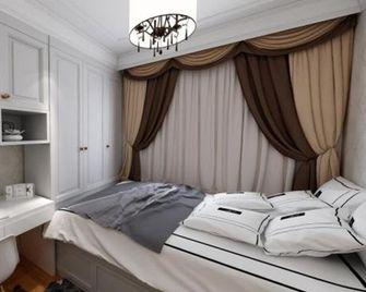 120平米英伦风格卧室设计图