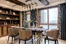 140平米四室四厅东南亚风格餐厅装修效果图