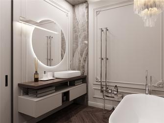 130平米三室两厅美式风格卫生间装修图片大全