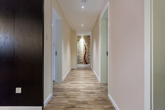 120平米四室两厅混搭风格走廊欣赏图