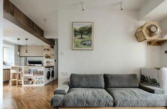 80平米三室两厅日式风格客厅装修案例