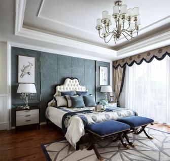 130平米一室一厅法式风格卧室装修图片大全