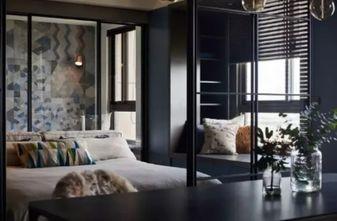 90平米一居室现代简约风格卧室图片