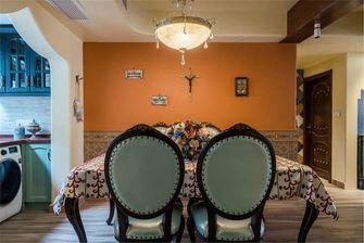 90平米三室两厅地中海风格餐厅图片大全