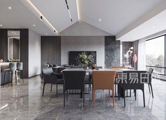 140平米四室两厅现代简约风格餐厅欣赏图
