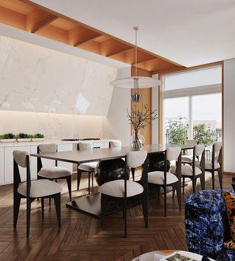 140平米四现代简约风格餐厅装修效果图