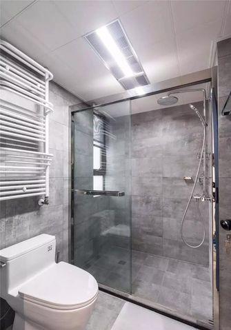 80平米三室两厅田园风格卫生间图片大全