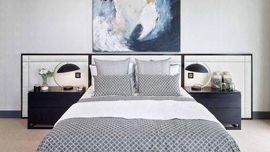 100平米三室一厅英伦风格卧室效果图