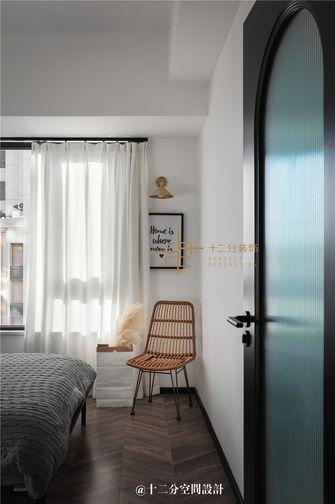 80平米混搭风格卧室效果图