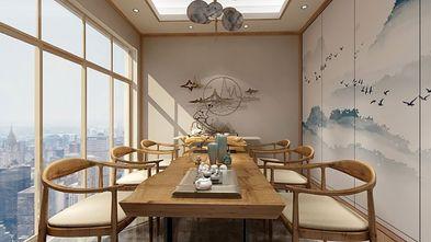 130平米三室一厅新古典风格餐厅效果图