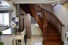 140平米复式美式风格楼梯间图片大全