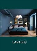 富裕型60平米一居室地中海风格卧室图片大全