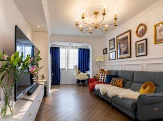 60平米一居室东南亚风格客厅装修案例