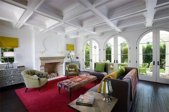 140平米四地中海风格客厅欣赏图