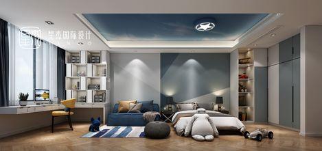140平米四室三厅现代简约风格儿童房装修案例