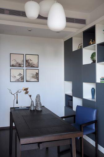 120平米三室一厅中式风格书房设计图