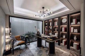 120平米三室两厅新古典风格书房图片大全
