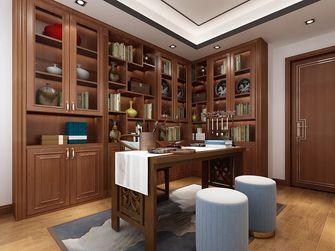 100平米三室一厅中式风格书房装修案例