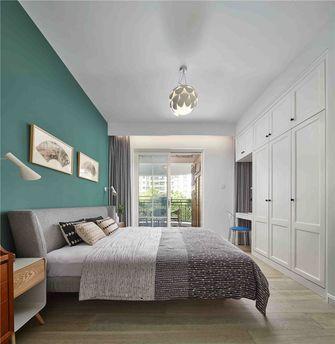 100平米三室一厅混搭风格卧室效果图
