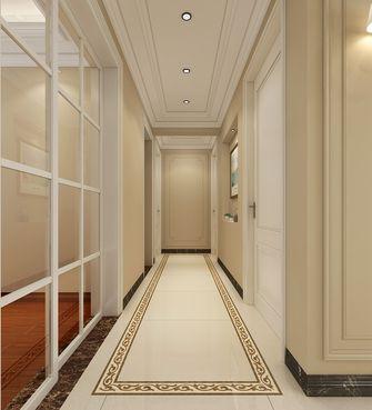 130平米四美式风格走廊图片