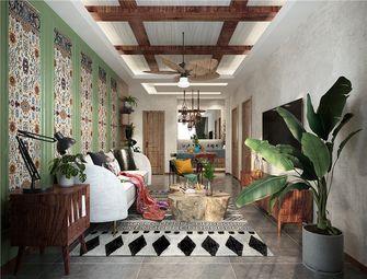 100平米东南亚风格客厅设计图