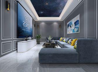 140平米四欧式风格影音室装修效果图