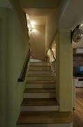 富裕型80平米复式田园风格楼梯效果图