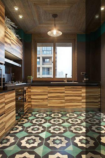 70平米一居室混搭风格厨房设计图