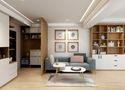 60平米一室一厅日式风格客厅装修图片大全