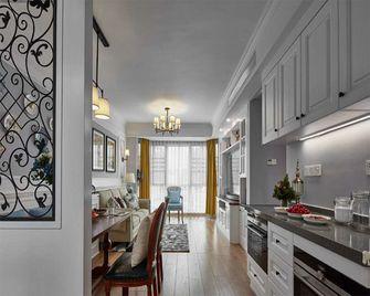 130平米三室两厅美式风格厨房图片大全