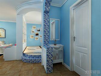 60平米一室一厅地中海风格玄关装修图片大全