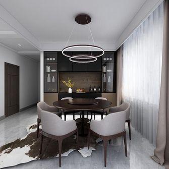 140平米三室两厅英伦风格餐厅装修效果图