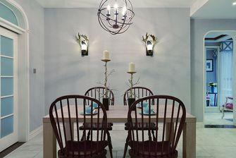 90平米三室两厅田园风格餐厅欣赏图