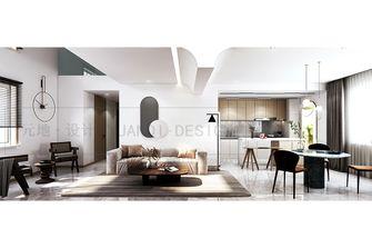 豪华型120平米复式现代简约风格客厅图片