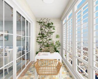 80平米三地中海风格阳台图片