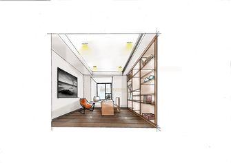 90平米三室两厅其他风格书房图片