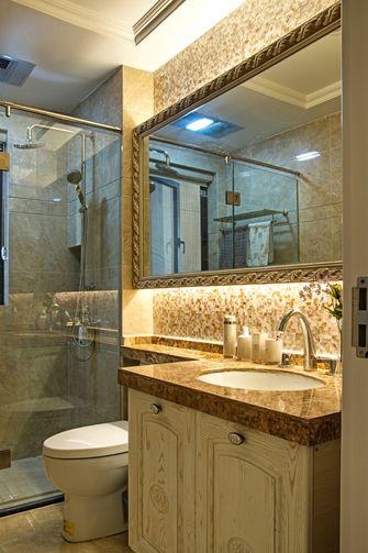 80平米公寓美式风格卫生间设计图