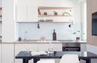 60平米公寓中式风格厨房装修案例