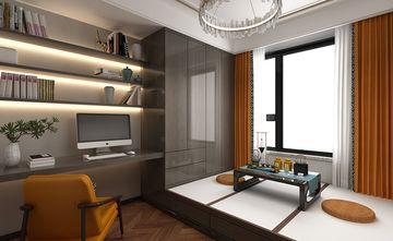 120平米三室三厅中式风格书房装修案例