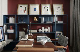 120平米四现代简约风格书房欣赏图
