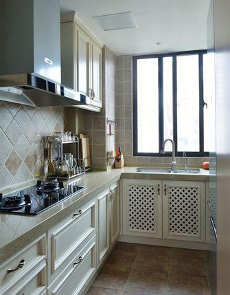 140平米三室三厅混搭风格厨房装修图片大全