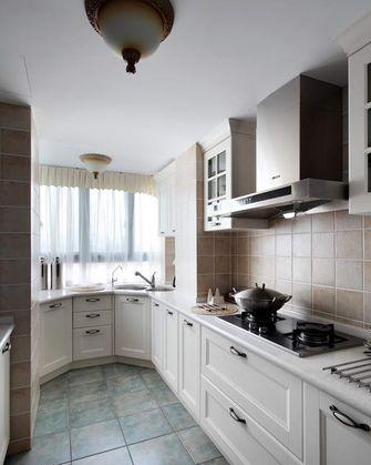 100平米三室两厅田园风格厨房装修效果图
