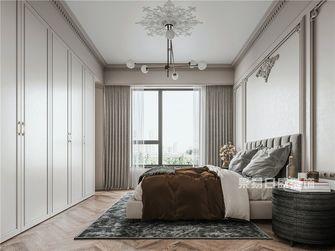 120平米三室两厅法式风格卧室装修效果图